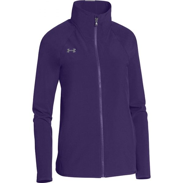 Under Armour Women's Squad Woven Warm-Up Jacket