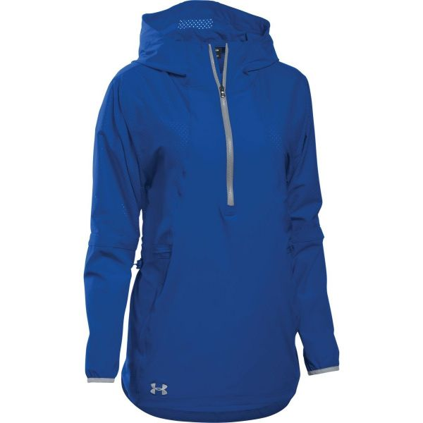 Under Armour Womens Squad Woven 1/2 Zip