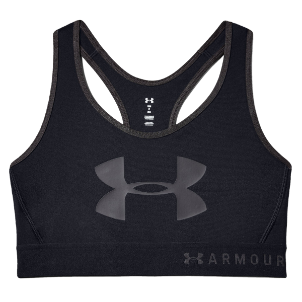 Under Armour Armour Mid Keyhole Graphic Sports Bra