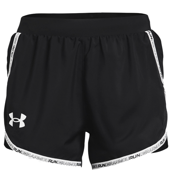 Under Armour Women's Fly-By 2.0 Brand Shorts