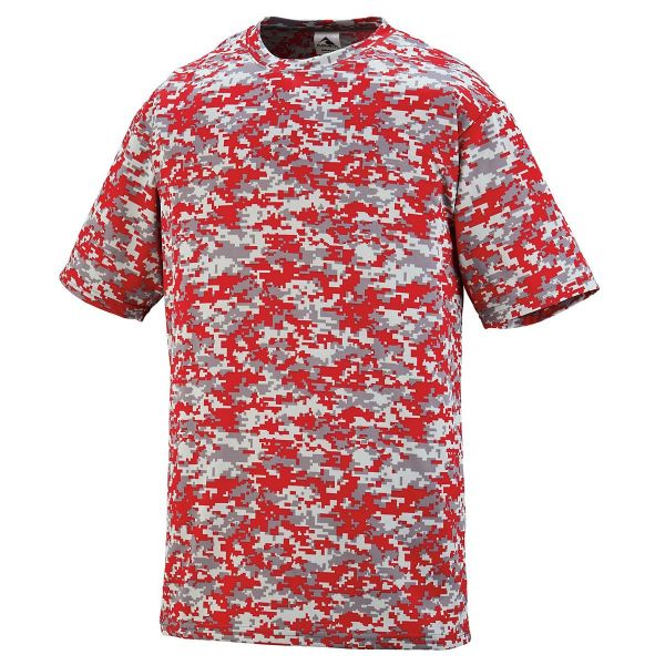 Augusta Youth Digi Camo Wicking Shirt