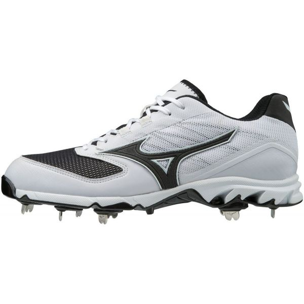 Mizuno Mens 9-Spike Dominant IC Low Metal Baseball Cleats