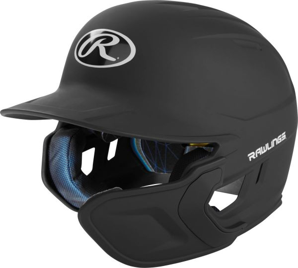 Rawlings Mach Matte Batting Helmet With EXT Flap