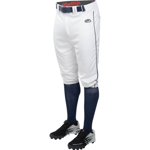 Rawlings Men's Launch Knicker Piped Baseball Pant