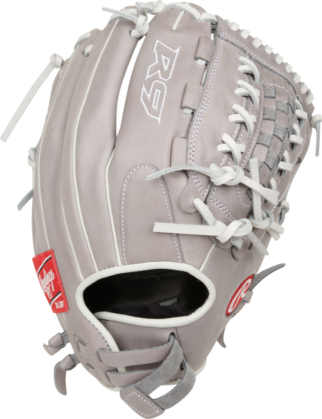 Rawlings R9 Softball Glove Double-Lace Basket Web 12.5