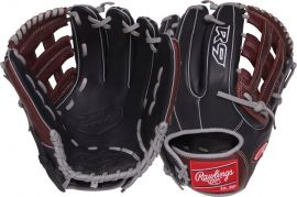 "Rawlings R9 Series 11.75"" Narrow Fit Pro H Baseball Glove"